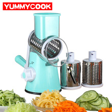 Manual Round Spiral Mandoline Vegetable Slicer Fruit Cutter Chopper Peelers Kitchen Gadgets Tools Accessories Supplies Products