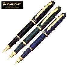Zestaw długopisów Platinum klasyczna seria pozłacane pióro wieczne artykuły papiernicze Iraurita z konwerterem atramentu PGB 3000 długopisy biurowe