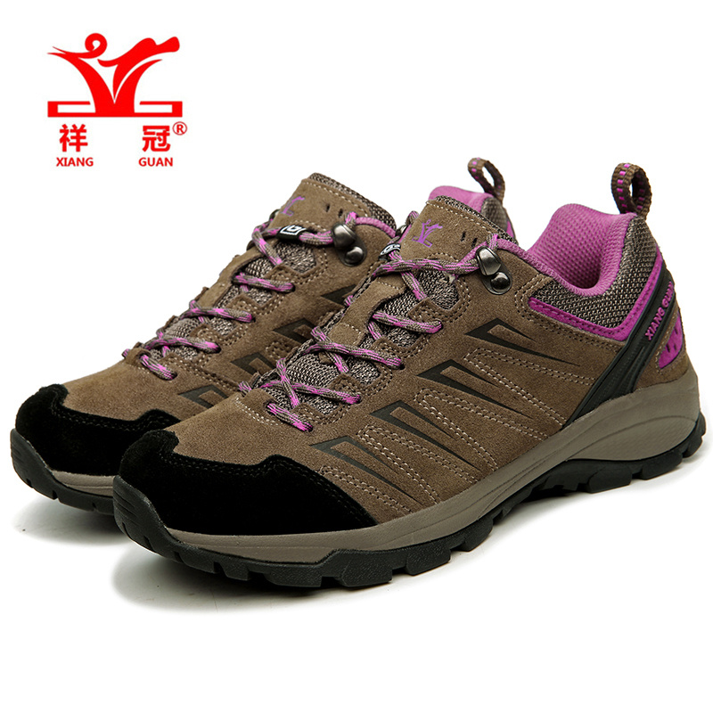 XIANGGUAN new hiking shoes outdoor woman camping sneakers men hunting winter trekking outventure non-slip climbing sport Rubber bolangdi 2017 new anti slip outdoor men hiking shoes high quality trekking camping shoes breathable lace up brand sport sneakers