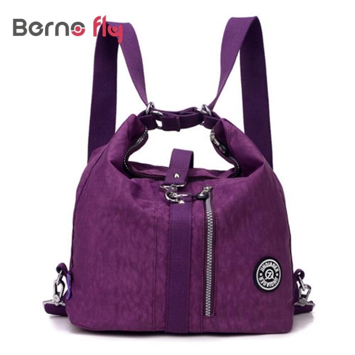 2016 Fashion Women Bag Messenger Double Shoulder Bags Designer Handbags High Quality Nylon school bag bolsas