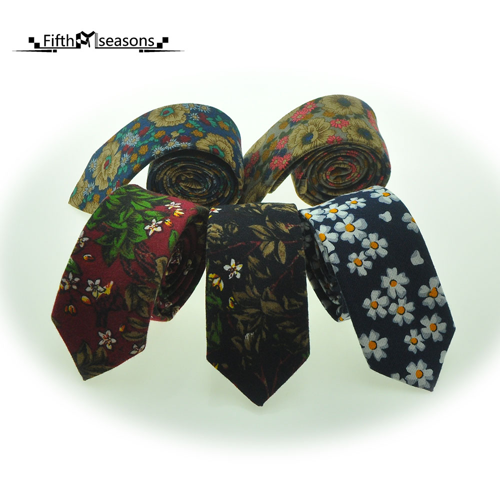 CHCUM Cotton Hand Made Neck Tie Classical Fashion Flower Ties For Men 2017 font b Dress