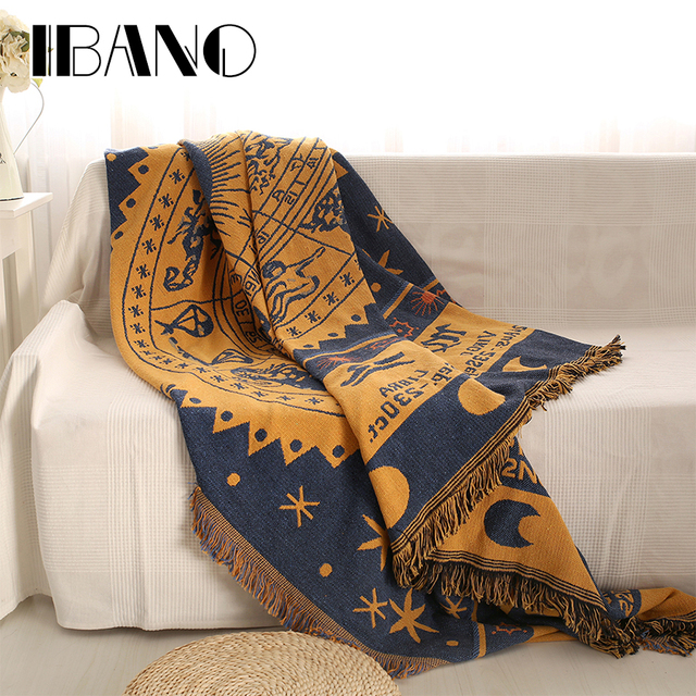 cotton throw blanket Aliexpress.: Buy IBANO Cotton Throw Blanket Sofa Cover  cotton throw blanket