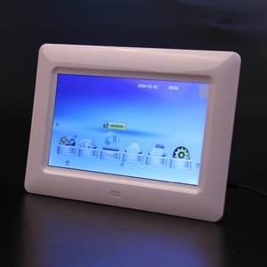 Digital-Photo-Frame Movie-Player HD with MP3 MP4 Slideshow-Clock Remote Desktop TFT-LCD