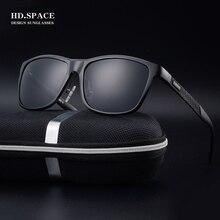 HD.space aluminum magnesium men Polarized Sunglasses 2017 Fashion Full frame HD UV400 lunettes de soleil homme Sunglasses men