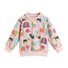 AJLONGER Hot baby girls boys cartoon cotton printing t-shirts children lovely t shirts tees tops clothes
