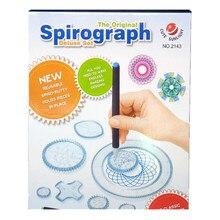 22 piezas Juego de juguetes de dibujo de Spirograph engranajes entrelazados y ruedas accesorios de dibujo creativo juguete educativo para niños