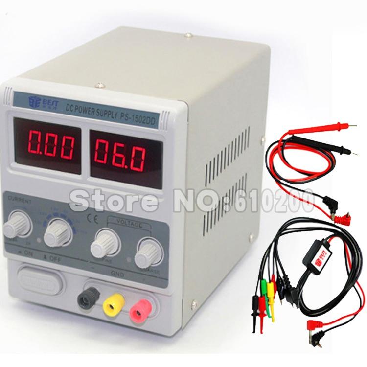 Free shipping BEST-1502DD LED Display Digital DC Power Supply phone repair dedicated power supply GSM CDMA PHS signal test чаша для мультиварки steba dd 1eco