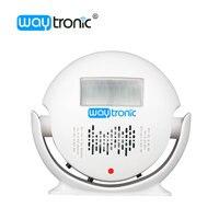 Беспроводной движения Сенсор Дверные звонки автоматический дверной Звонок MP3 аудио плеер приветствуем извещатель сигнализации для магази...