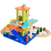 New Wooden Baby Toys Parking Lot
