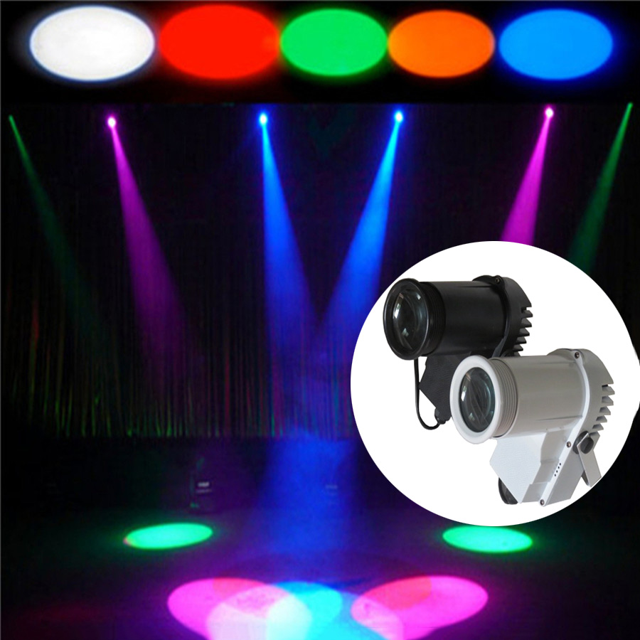 BEIAIDI 10W RGB Disco DJ Party Beam Pinspot Spotlight Stage Effect Lights Voice Control KTV Club Bar Mirror Ball Reflection Lamp rg mini 3 lens 24 patterns led laser projector stage lighting effect 3w blue for dj disco party club laser