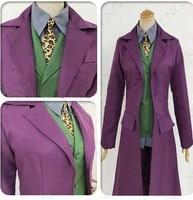 Batman The Dark Knight Rises Joker Cosplay Costume