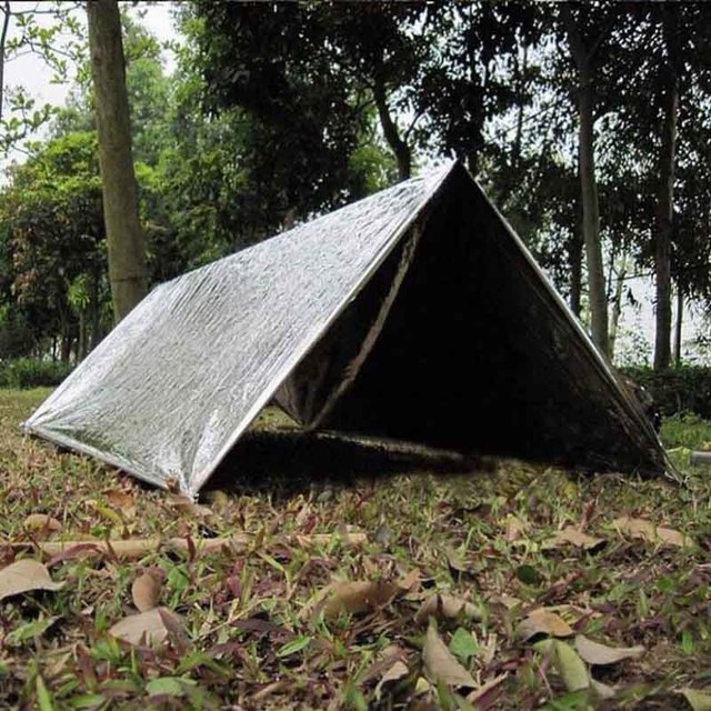Hot Sell Portable Ultralight C&ing SOS Shelter Emergency Shelter Emergency Tube Tent First Aid Gear Silver & Hot Sell Portable Ultralight Camping SOS Shelter Emergency Shelter ...