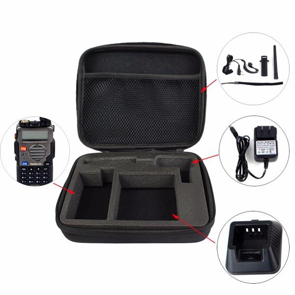 Black Storage BoxBag Carrying Case (9)
