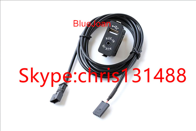 US $15 9  BlueJoan GPS Navigation USB AUX in Plug Socket Harness Adapter  For BMW E39 E46 E38 E53 X5-in Cables, Adapters & Sockets from Automobiles &