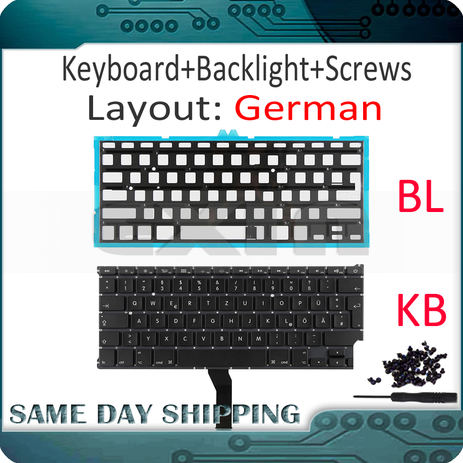 "NEW OEM Keyboard for Apple MacBook Air 13/"" A1369 A1466 2011//2012//2013//2014//2015"