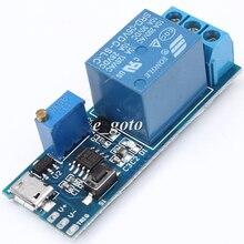 Таймер модуль запуска задержки реле Модуль 5-30 В Micro USB Мощность
