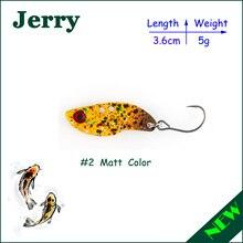 Jerry 1pc 3.5g 5g fishing blade VIBEs hard body bait metal VIB lure