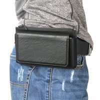 Multi Functional Purse Belt 5 5 Inch Mobile Phone Case Zipper Three Pocket Bag Protection Cover