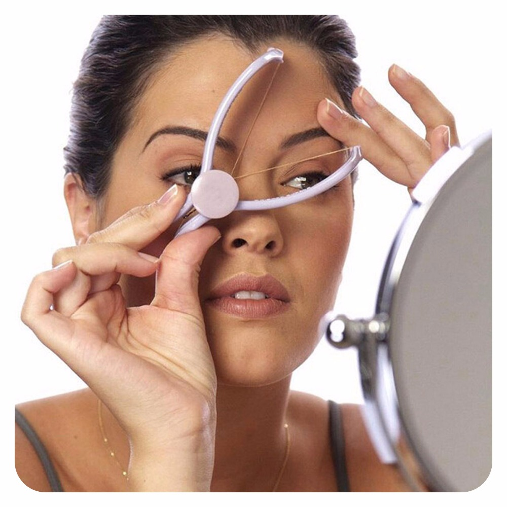 2017 Hot TV Brand New Spring Facial Hair Remover Threading Epilator Defeatherer DIY Beauty 1 order,Can Drop-shipping