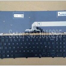 Великобритании черная клавиатура для ноутбука Dell Inspiron 15-3000 5000 3541 3542 3543 5542 3550 5545 5547 15-5547 15-5000 15-5545 17-5000