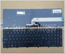 Новый Великобритании черная клавиатура для ноутбука Dell Inspiron 15-3000 5000 3541 3542 3543 5542 3550 5545 5547 15-5547 15-5000 15-5545 17-5000