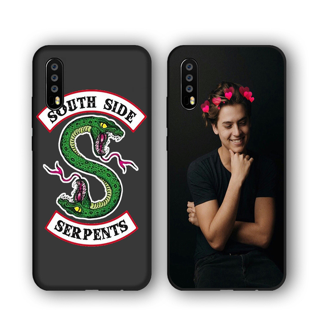 separation shoes b853f 37b74 American TV Riverdale southside serpents soft Silicone phone case  personalised For huawei p20 pro p8 p9 p10 lite mate 10 lite