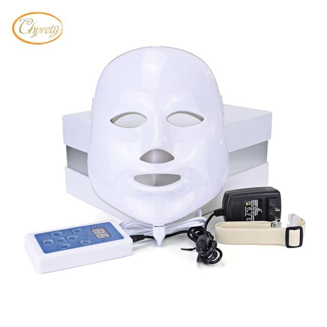 7 colors photon PDT led skin care facial mask blue green red light therapy beauty devices with wholesale price