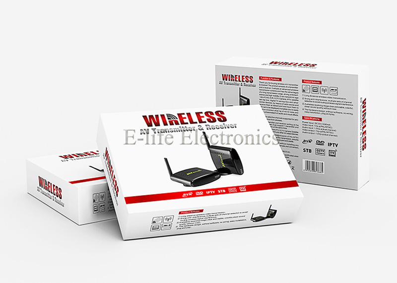 2.4G Design STB Wireless Transmitter and Receiver with IR Remote Control-5.jpg