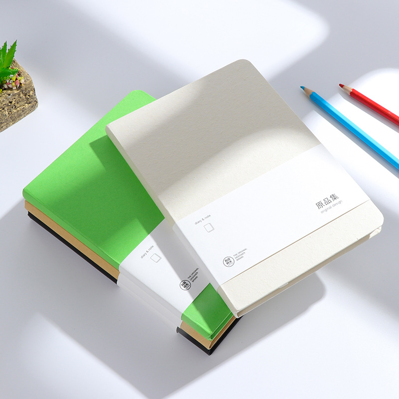 Retro Sketch Craft Paper Blank Notebook Sketch Drawing Book Journal Diary Note Stationery School Office Supply BJB15