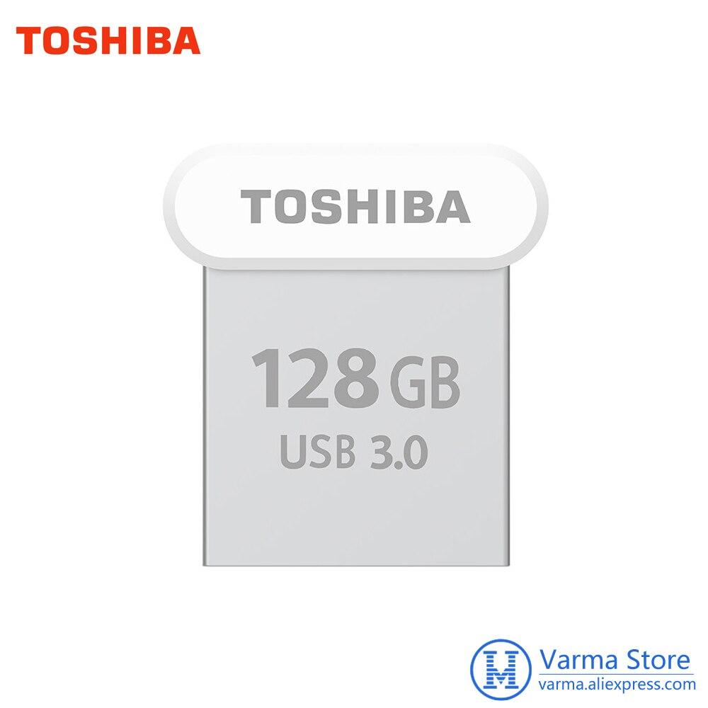 все цены на Toshiba USB Flash Drive 3.0 U364 Hidden Drive USB3.0 High Speed 128GB Pendrive Transmemory USB Mini Micro Flash Drive