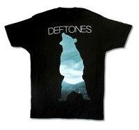 Shirt Maker Crew Hals Korte Deftones Beer Afbeelding Zwart Nieuwe Officiële Volwassen Premium Mens Tee Shirts