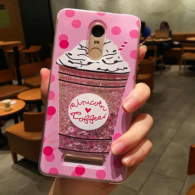 Acqua allo stato liquido Caso Molle di TPU Della Copertura per Huawei Honor 20 4X 5A 6A 7A 5X 6X 7X 7i 8X 9i 10 Lite Gioco Y6 II 2018 Unicorno Cassa Del Telefono
