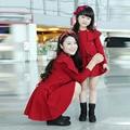 Мать дочь платья семья взгляд девушка и мать элегантный мама и дочь платья семья одежда соответствующие костюмы одежда
