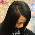Brazilian Straight Closure Piece Free Three Middle Part Closure 4*4 Lace Closures Cheap Closures With Free Shipping