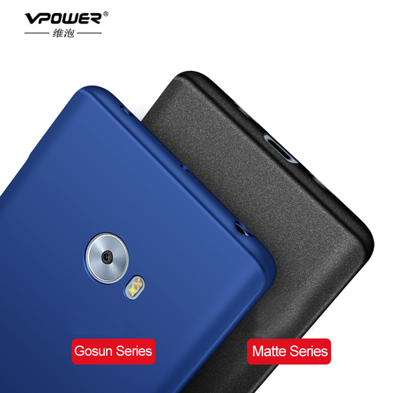 Para Xiaomi Mi Note 2 Funda Vpower Silky Feel Luxury PC Hard Shell - Accesorios y repuestos para celulares - foto 3