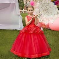 MUQGEW Children Kids Girl Sleeveless Princess Formal Wedding Party Tutu Dress Clothes kids casual deguisement enfant fille #sg
