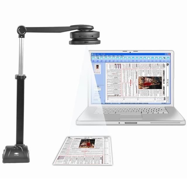 S500A3B Tốc Độ Cao Di Động Máy Quét Tài Liệu với Camera 5MP & A3/A4 Kích Thước Quét & 10 ngôn ngữ Optical Character công nhận