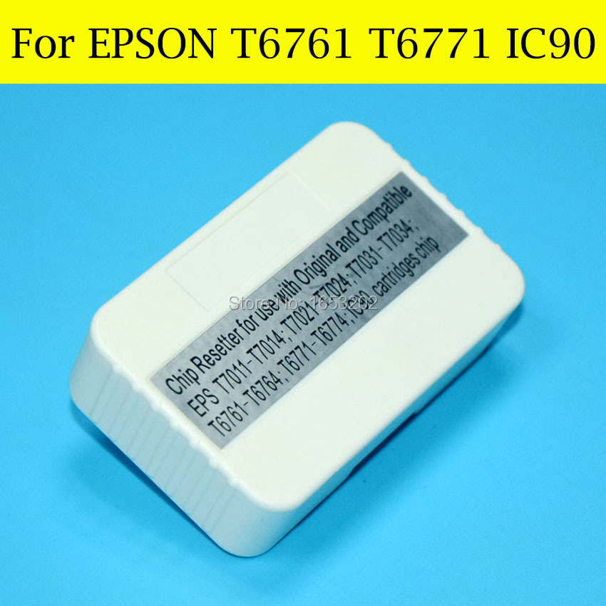 1 Piece Chip Resetter For Epson IC90 IC90L T6771 T676XL For EPSON PX-B700 B750F WP-4011 4511 4521 4531 4525 4535 4545 Printer