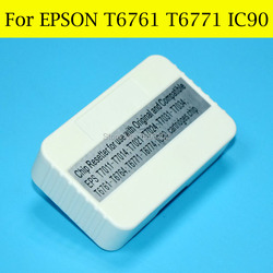 1 sztuka Chip Resetter do Epson IC90 IC90L T6771 T676XL do projektora EPSON PX-B700 B750F WP-4011 4511 4521 4531 4525 4535 4545 drukarki