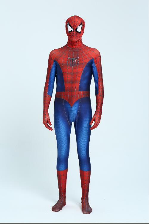 Costume Spiderman rouge noir Costume Spider Man Costume Spider-man adultes enfants enfants SpiderMan Cosplay vêtements pour Halloween