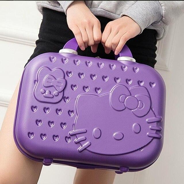 Hello Kitty последние стиль разнообразие цветов может быть выбран детский багаж Взрослых портативный Чемодана