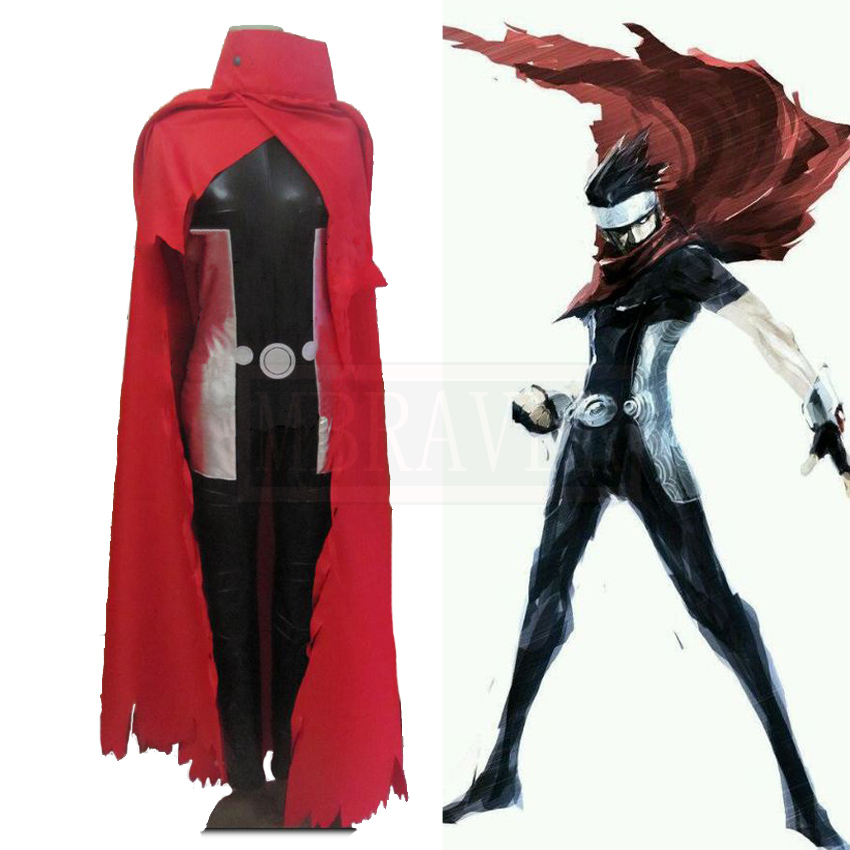 X-Men Wiccan Cosplay Costume Halloween Custom Made Free Shipping