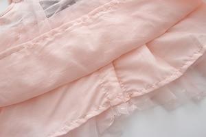 Image 5 - Varejo verão recém nascido com decote em v laço princesa vestido infantil bebê meninas vestido mel roupas de bebê vestido de bebê