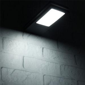Image 3 - 144 LED Solar Power Motion Sensor Garten Sicherheit Lampe Im Freien Wasserdichte Licht Portikus Lampe Gartenbeleuchtung