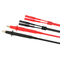 UNI T UT L46 Four Wire Test Leads Probe use for UT620A UT620B Red + Black