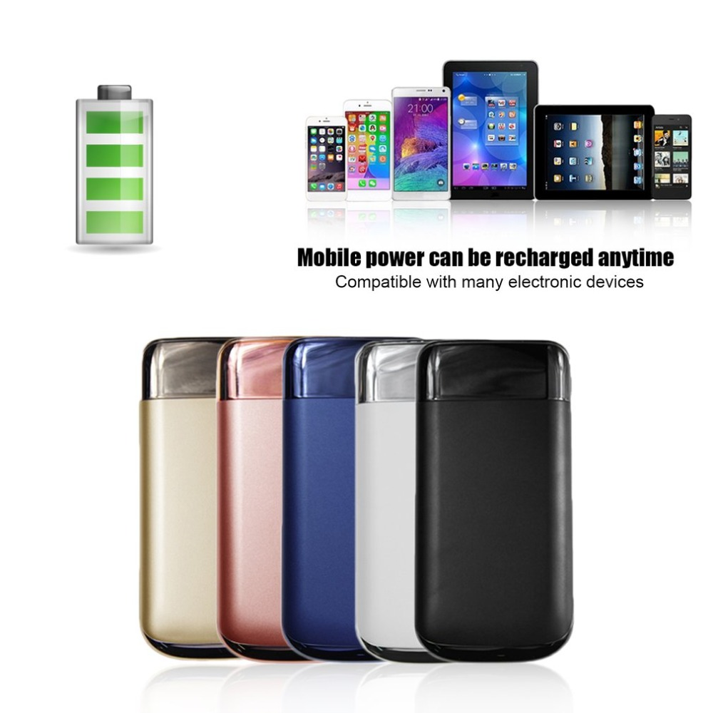 20000mAh Power Bank External Battery LCD Screen Display With LED Light Outdoor Portable Mobile Powerbank For Phones