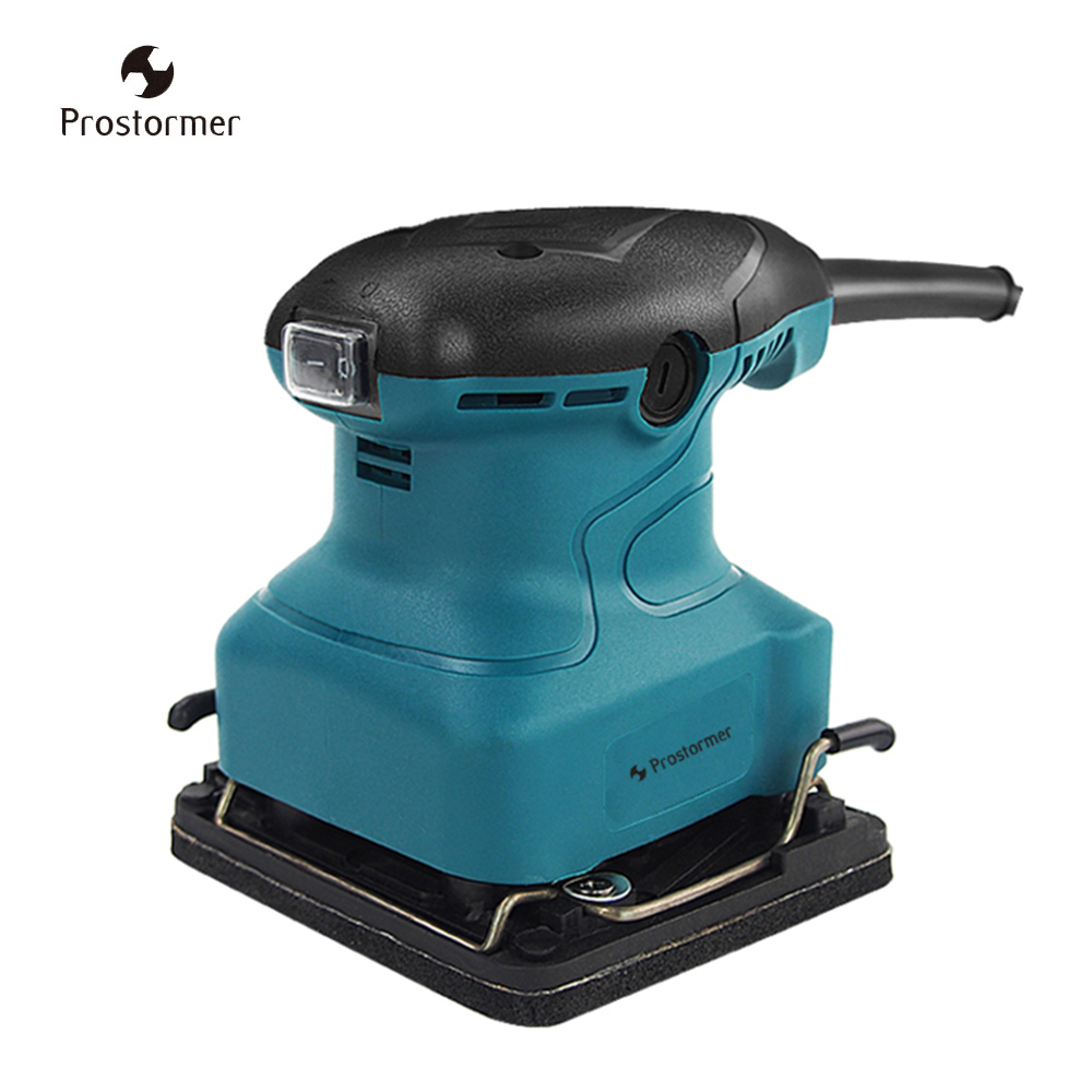 цены Prostormer 200W Electric Sander sandpaper flat wood paint furniture machine grinding machine woodworking power tools sanding
