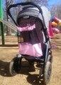 Девочка Розовый Коляска Детская Коляска Аксессуары Сетка Сетка Мешок, прикрепить К Коляске Игрушки Хранения