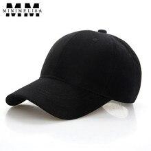 Фотография 2018 Black White Hat Summer Cotton Pure Color Baseball Cap Male Sports Cap Woman Shade Cap High Quality Cotton Hats Adjustable