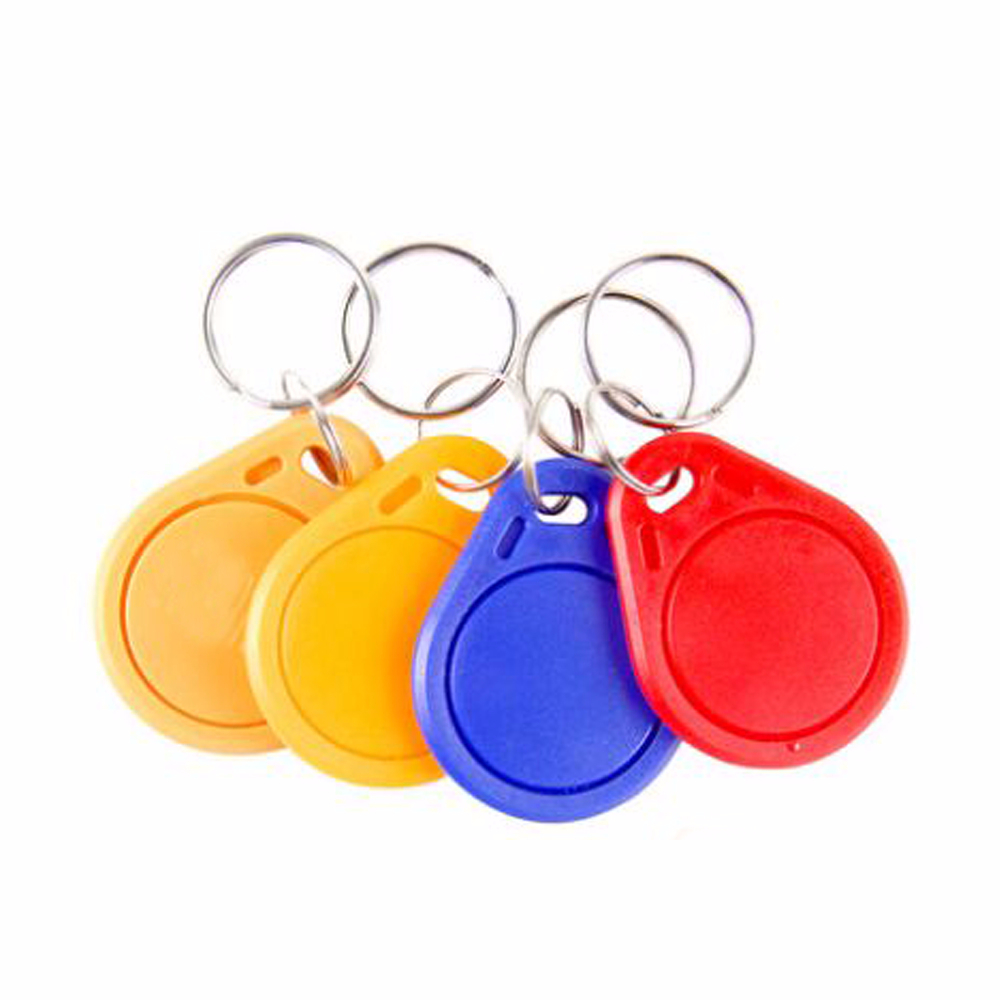 100pcs F1108 (Compatible MFS50)  13.56MHz RFID IC Key Tags Keyfobs Token NFC TAG Keychain